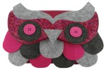 Irregular Choice Twit Twoo clutch in pink - £50.00